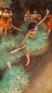 Green Dancer circa 1880 Edgar Degas